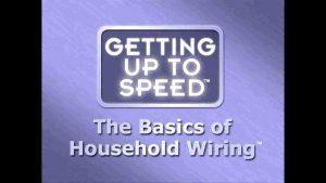 Basics of Household Wiring