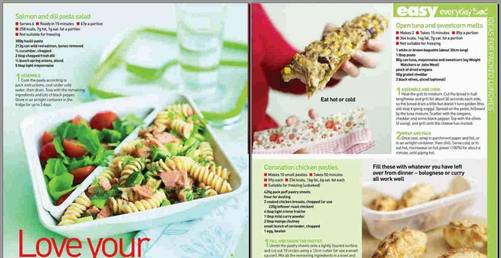 Recipe-magazines