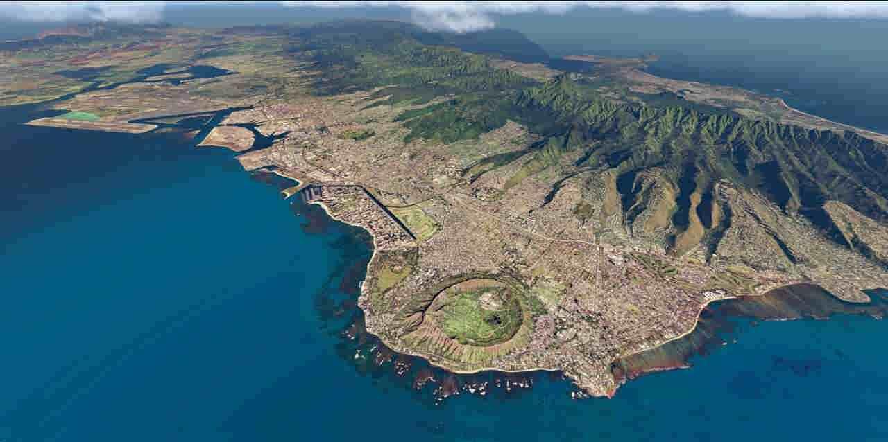 Over Hawaii 2011